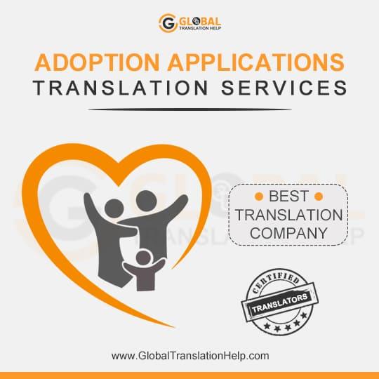 Adoption Applications Translation Services
