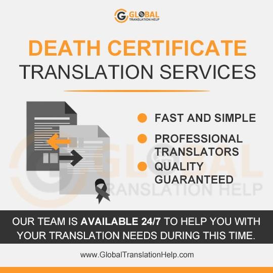 Death Certificate Translation Services | USCIS Certified Translation