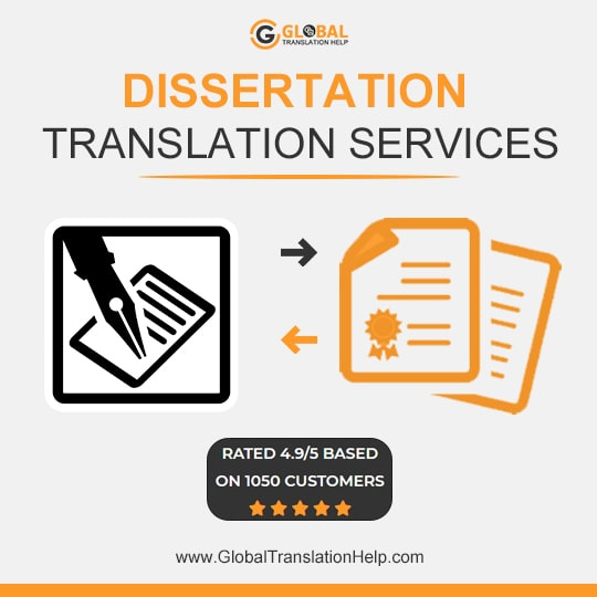 Dissertation Translation Services