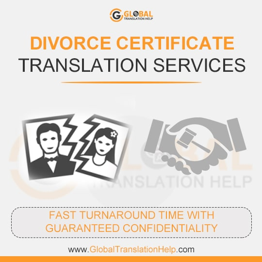 Certfied Translation Divorce Decree