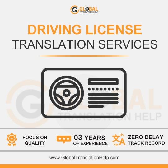 Driving License Translation Services