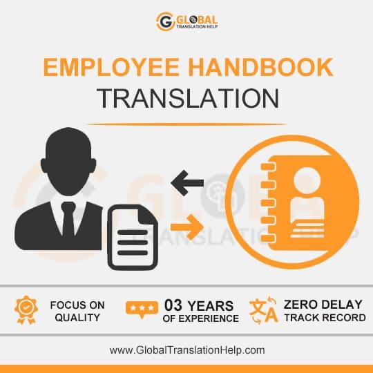 Employee Handbook Translation