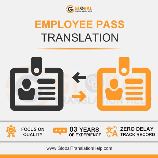 Employee Pass Translation