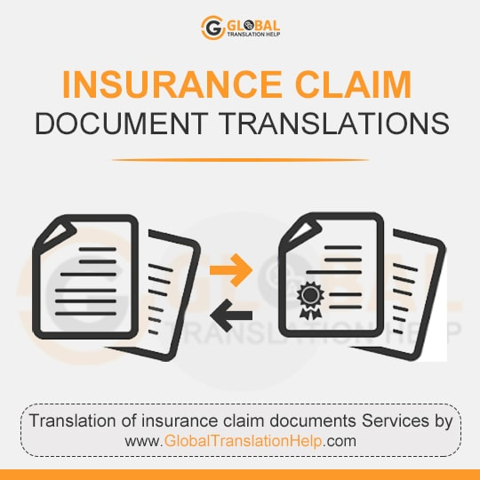 Insurance Claim Document Translations
