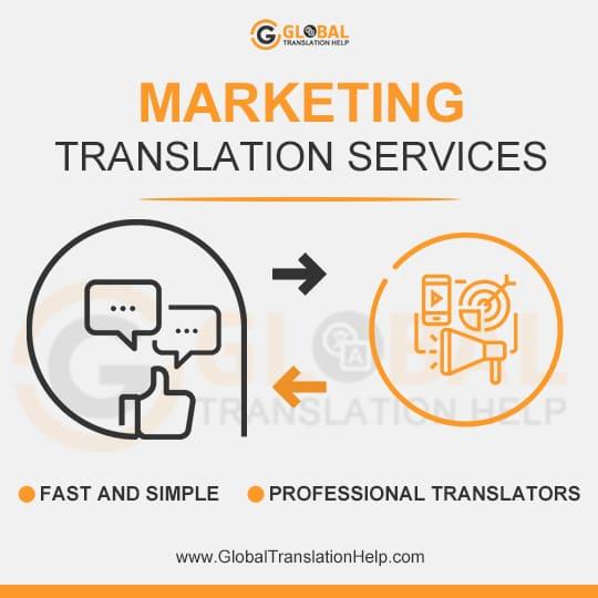 Marketing Translation Services