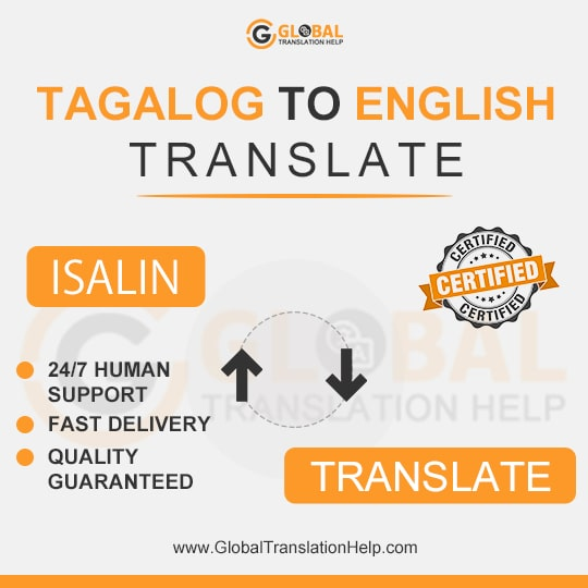 Tagalog-English Translations