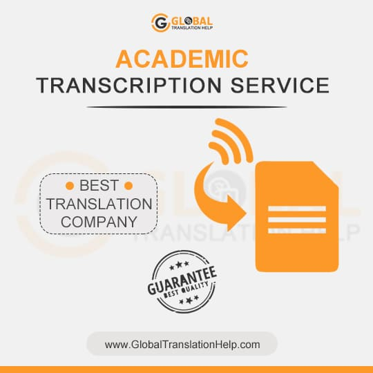 High-Quality Academic Transcription Services