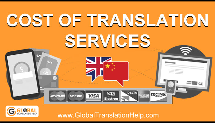 Cost Of Translation Services
