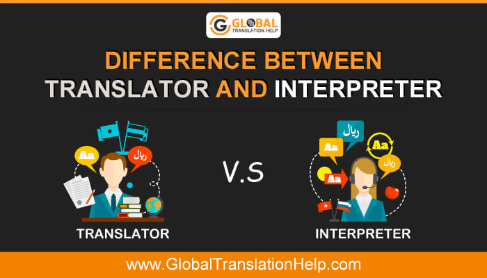 Difference Between Translator And Interpreter