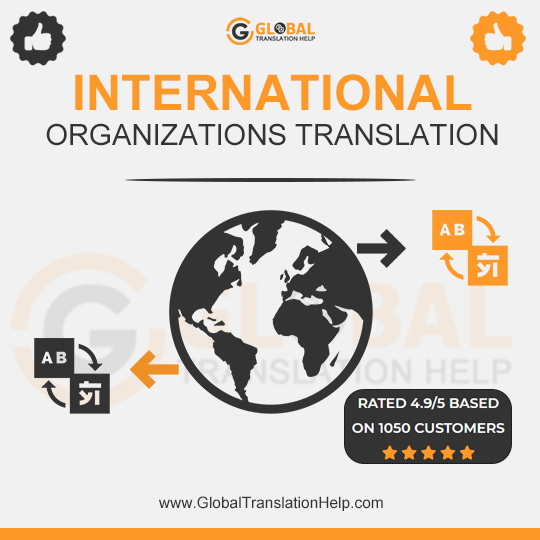 International Organizations Translation