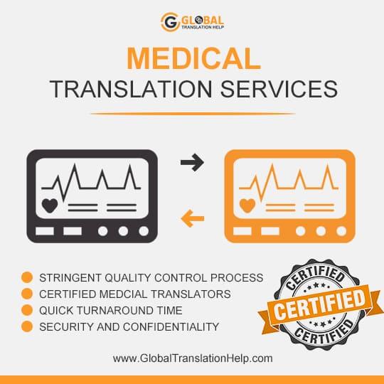 online medical translation services