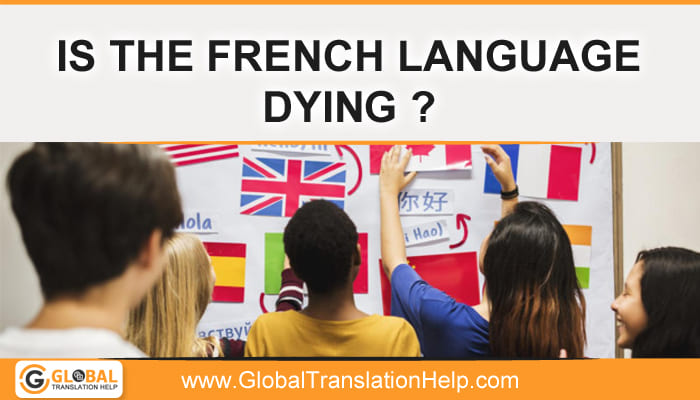 Is The French Language Dying