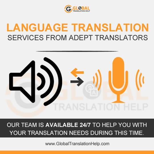 Language Translation Services From Adept Translators