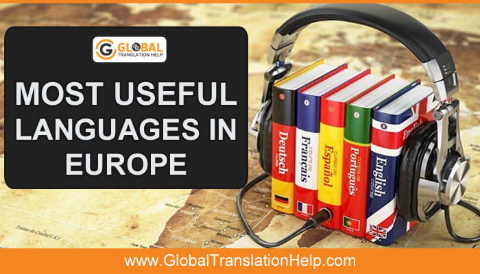 Most Useful Languages in Europe