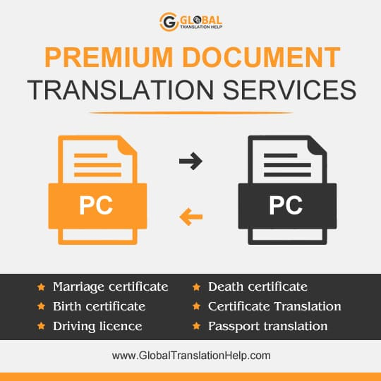 Premium Document Translation Services